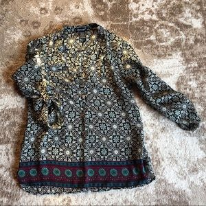 Multi colored top in great condition.